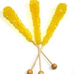 yellow rock candy