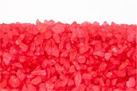 red crystal bunch