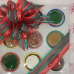 christmas cookie tra y